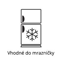 Vhodné do mrazničky
