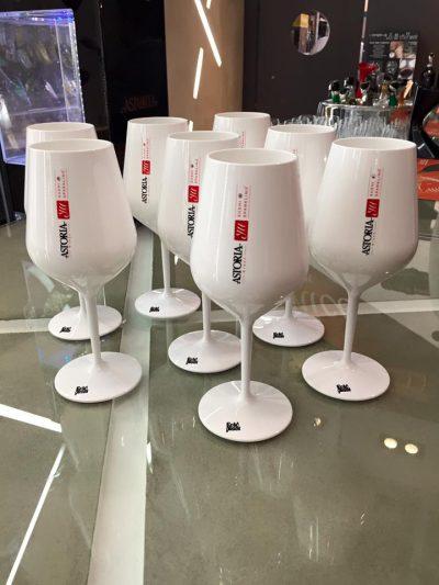 Potlač plastových pohárov